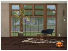Pocci SunnyDay windows at 13pumpkin31 via Sims 4 Updates