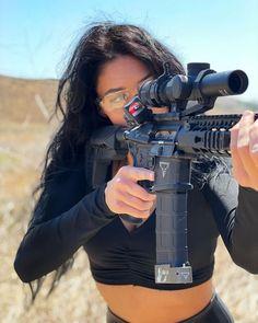 When You See It, Shooting Gear, Assault Rifle, Tactical Gear, Shotguns, Firearms, Instagram, Pew Pew, Women