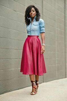 ea1de70b62fa A Linien Rock, Schicke Outfits, Kleiderschrank, Bluse, Mode Für Frauen,  Kleidung