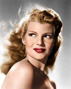 Rita Hayworth from: http://mitchpeter.tumblr.com/