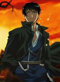 Fullmetal Alchemist | Roy Mustang...yup. I crushed on him quite a lot as well.
