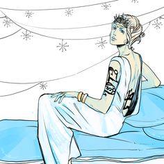 Grace Blackthorn | Cassandra Jean Calendar | January | The Last Hours | Cassandra Clare