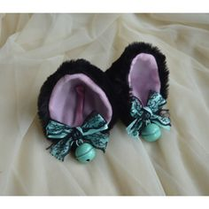 Kitten play clip on cat ears with ribbon bows and bell neko lolita... ($14) ❤ liked on Polyvore featuring accessories, hair accessories, head wrap headbands, headband hair accessories, fur headband, long hair accessories and cat ears headbands