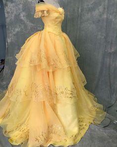 Belle Adult Costume Princess Disney costume Beauty and the Belle Cosplay, Belle Costume, Costume Dress, Disney Princess Dresses, Disney Dresses, Princess Belle, Pretty Dresses, Beautiful Dresses, Robes Disney