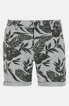 Topman 'Okavango' Print Shorts available at #Nordstrom