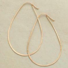 14k Gold Avocado Earrings