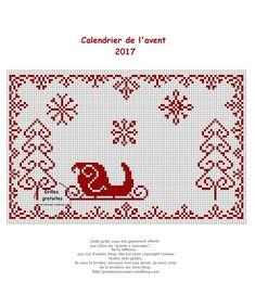 """Tous à bord du Père Noël TRAIN /""""Nous vous souhaite un joyeux Noël Signe de cross stitch chart"""