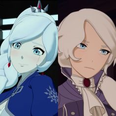 """"""" Side by side comparison of Team RWBY and their mothers. Rwby Anime, Rwby Fanart, Rwby Characters, Female Characters, Fictional Characters, Rwby Winter, Rwby Volume 1, Rwby Weiss, Red Like Roses"""