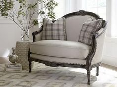 This Annette Settee Couldnu0027t Be A More Perfect Example Of How Beautiful  Mixing Patterns