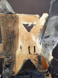Antonio Tapies (via art) Tachisme, Franz Kline, Spanish Painters, Spanish Artists, Willem De Kooning, Jasper Johns, Jackson Pollock, Robert Rauschenberg, Art Espagnole