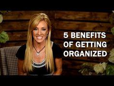 5 Benefits Of Getting Organized | Terri Savelle Foy Ministries | www.terri.com