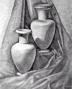 Object drawing, charcoal art, still life pencil shading, still life dra Still Life Sketch, Still Life Drawing, Pencil Art Drawings, Drawing Sketches, Drawing Ideas, Pencil Sketching, Still Life Pencil Shading, Charcoal Art, Charcoal Drawing