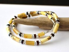 Amber Mens Necklace, Amber Jewelry for Men, Untreated Amber, Mens Jewelry, natural necklace for men, men's necklace Baltic Amber Necklace, Amber Earrings, Amber Jewelry, Gemstone Jewelry, Men Necklace, Necklace Lengths, Bracelets, Silver, Leather