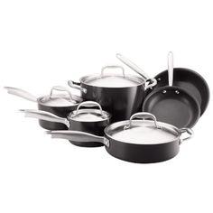 Anolon Titanium Hard Anodized Nonstick 10-Piece Cookware set - http://www.fivedollarmarket.com/anolon-titanium-hard-anodized-nonstick-10-piece-cookware-set/