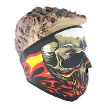 Skull Winter Neck Warm Full Face Mask Veil Sport Motorcycle Ski Bike Balaclava