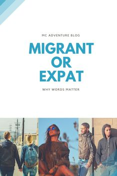 Expats and migrants are two sides of the same coin. And yet only certain people get to call themselves expats. It's time to explore why these words matter and what it means for the travel industry. Travel Articles, Travel Advice, Travel Guides, Travel Tips, Poetry Inspiration, Travel Inspiration, Slow Travel, Group Travel, Holiday Travel