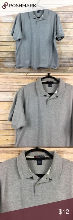 OSCC Old School Clothing Co. Gray Polo Shirt XL OSCC Old School Clothing Co.  Men's Gray Polo Shirt  Size XL 100% Cotton  Armpit to armpit 24 in Armpit to end of sleeve 6.5 in Shoulder to back hem 28 in Thanks for visiting! Old School Clothing Co. Shirts Polos