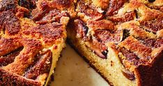 Fresh Fig & Ricotta Cake from Barefoot Contessa. Preheat the oven to 375 degrees. Butter and flour a 9-inch round springform pan, tapping out the excess flour. Place the butter and granulated sugar in the bowl of an electric mixer fitted with the paddle attachment and beat on medium speed…