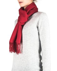 Kaschmir Schal rot front Pullover, Sweaters, Orange, Fashion, Red Shawl, Cashmere, Scarves, Moda, Sweater