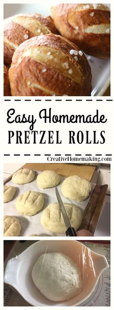 New to baking with yeast? Try these easy pretzel and get started making homemade breads and rolls!