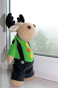 =) Reindeer, Moose, Sheep, Cactus, Sewing Projects, Teddy Bear, Crochet, Christmas, Handmade