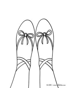 Toe ballet shoe coloring page. There are many free Toe ballet shoe coloring page in DANCE coloring pages. Hellokids members love this Toe ballet shoe . Dance Coloring Pages, Sports Coloring Pages, Coloring Pages For Kids, Coloring Sheets, Ballerina Shoes, Ballet Shoes, Online Coloring, Crafty, Drawings