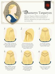 Game of Thrones Hair Tutorials