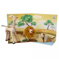 Plan Toys Planimal Africa Series (Discontinued)