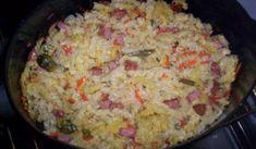 Zapečené těstoviny | recept na těstoviny Vegetable Recipes, Grains, Food And Drink, Cooking Recipes, Vegetables, Jar, Cooking, Chef Recipes, Korn