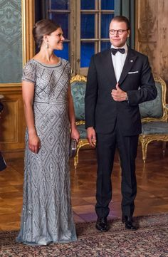Crown Princess Victoria of Sweden debuts her 3-Months- Along baby bump!