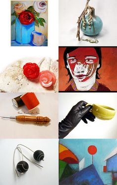 Christmas ! Bright and Bold ! by ILONA on Etsy--Pinned with TreasuryPin.com