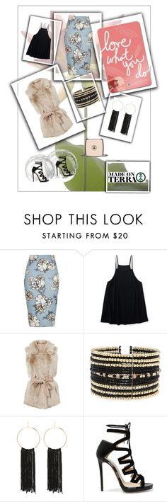 """Love what you do!"" by madeonterra ❤ liked on Polyvore featuring River Island, Aéropostale, Eloquii, Bebe, Jimmy Choo and Chanel"