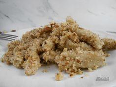 Diós gluténmentes nudli - hajdinaliszttel, édesítőszerrel Számos módon lehet a nudlit elkészíteni mákkal vagy sósan is. Most gluténmentes diós nudli készült. Klasszikus receptek gluténmentes változatai.