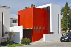 #red. Cereza House by NOVHUS-Oficina de Arquitectura