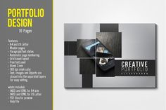 Portfolio Template by Top Design on @creativemarket