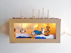 How To Make A Light Up Shoebox Theater - Handmade Charlotte Cardboard Box Crafts, Paper Crafts, Shoebox Crafts, Crafts To Do, Diy Crafts For Kids, Craft Ideas, Shoe Box, Activities For Kids, Creative