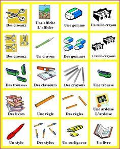 matériel scolaire