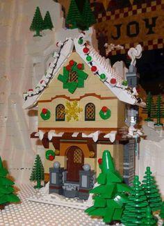 Expand the Winter Village Contest V – Voting - LEGO Town - Eurobricks Forums Lego Christmas Sets, Lego Christmas Village, Lego Winter Village, Christmas Stuff, Christmas 2019, Xmas, Harry Potter Advent Calendar, Lego Advent Calendar, Coastal Christmas