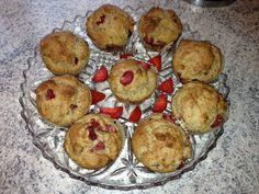 Erdbeer-Joghurt-Muffins - Vegane Naschkatzen