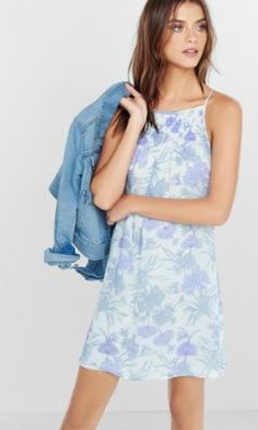 49.90 express to look cute........smocked trapeze cami dress from EXPRESS