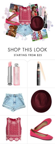 """""""Rosetta Disney bound -Tink"""" by disney-queens ❤ liked on Polyvore featuring Smashbox, Redopin, H&M, J.Crew, women's clothing, women's fashion, women, female, woman and misses"""