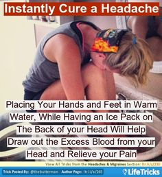 Instantly Cure a Headache or Mirgrane