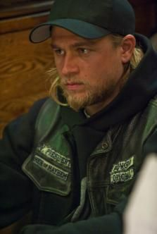 Charlie Hunnam.  So crushin' on him.  I just watched the first 3 seasons of Sons of Anarchy.  Great show.  Been crushin' on him since he was in the original Queer as Folk.