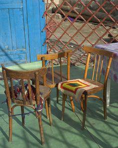 Ger furniture, Mongolia.