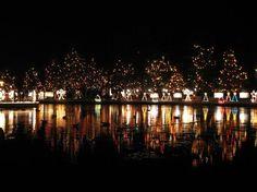 La Salette #Christmas Festival of Lights Shines Through Jan. 6, 2013. http://visitingnewengland.com/blog-cheap-travel/?p=3394
