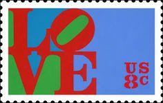 Philly Bricks: LOVE stamp