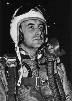 """Peter Sellers as Major T.J. Kong in """"Dr. Strangelove"""".  Stanley Kubrick wanted Sellers to play this fourth part in the movie.  Slim Pickens would actually play the part."""