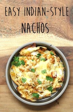 Easy Indian-Style Nachos