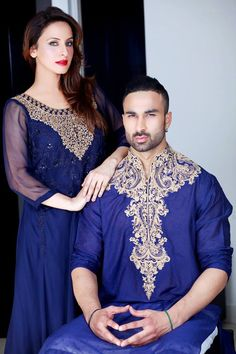 casual wear - ( pakistani style ) African Dresses Men, African Shirts, Turbans, Pathani Suit Men, Mens Boots Fashion, Fashion Outfits, Embroidery Fashion, Hand Embroidery, Embroidery Designs