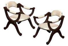 American Empire Revival Chairs, Pair on OneKingsLane.com
